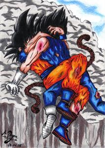 Fight-Love-Vegeta x Goku-xGogetaCatx-ibDBZ Reloaded-b The Yaoi Saga -i-Thumb140
